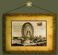 Ferris Wheel World's Columbian Exposition in Chicago, Illinois