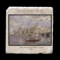 """Agriculture Building - 4x4"""" cork backed stone coaster"""