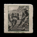 "Jim Taylor 1965 NFL Championship - 4x4"" cork backed stone coaster"