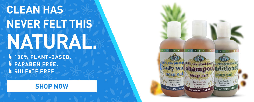 Bright Earth Foods Body Care Line. Clean has never felt this natural