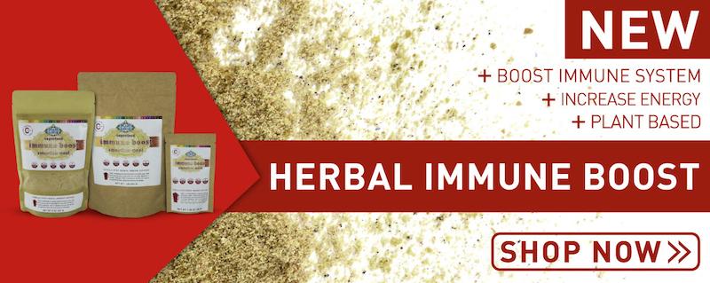 New! Bright Earth Foods Herbal Immune Boost. Raw, Gluten-Free, Vegan