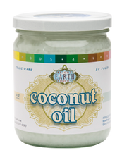 Coconut Oil, Raw, Cold-Pressed 16oz