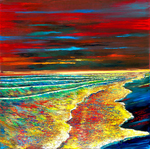 Waves of Passion Ford Smith modern seascape