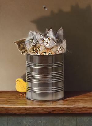 Cats in a Can by Braldt Bralds
