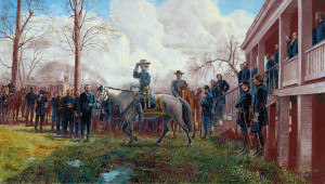 Respect for an Army by Mort Kunstler