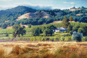 Alexander Valley Winery, June Carey  LIMITED EDITION CANVAS