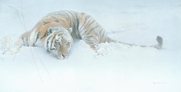 Sudden Move by Robert Bateman