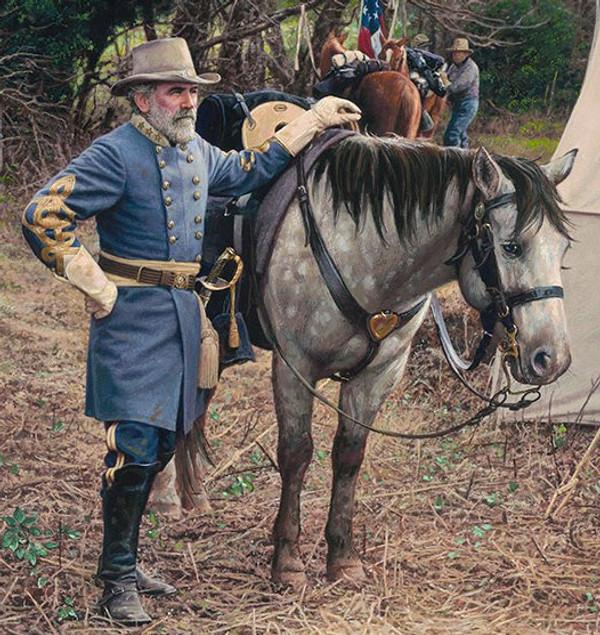 General Lee in Gettysburg  by John Paul Strain - Classic Canvas