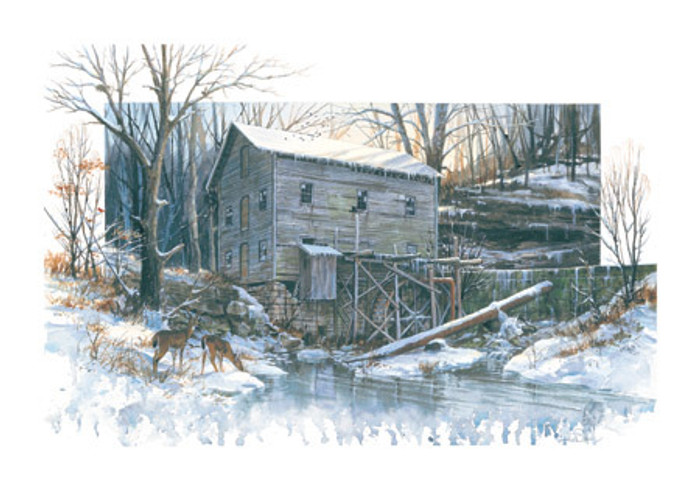 Miller's Creek Mill, by Luke Buck