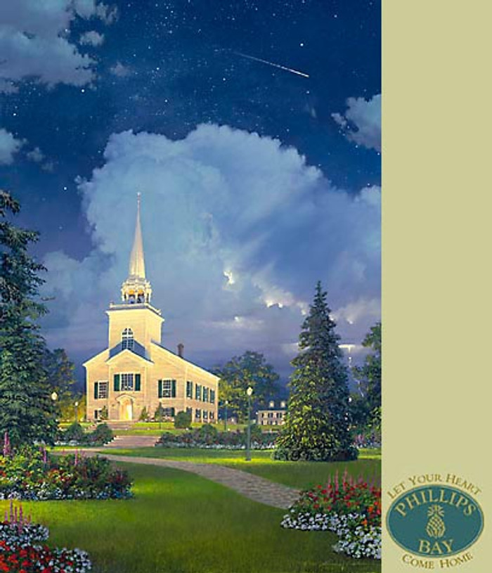 THE HEAVENS PROCLAIM HIS GLORY, William S. Phillips LIMITED EDITION PRINT