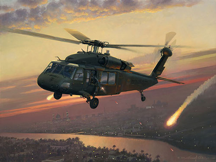 Returning Fire, William S. Phillips LIMITED EDITION PRINT