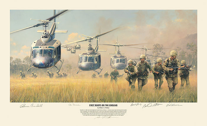 First Boots on the Ground, William S. Phillips LIMITED EDITION PRINT