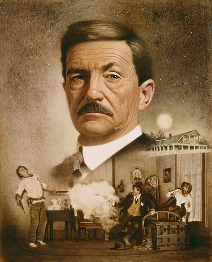 Pat Garrett: The Making of a Legend, by Don Crowley LIMITED EDITION CANVAS