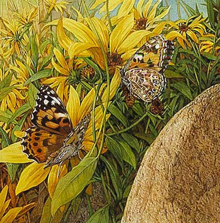 PAINTED LADIES, by Bev Doolittle OPEN EDITION PRINT