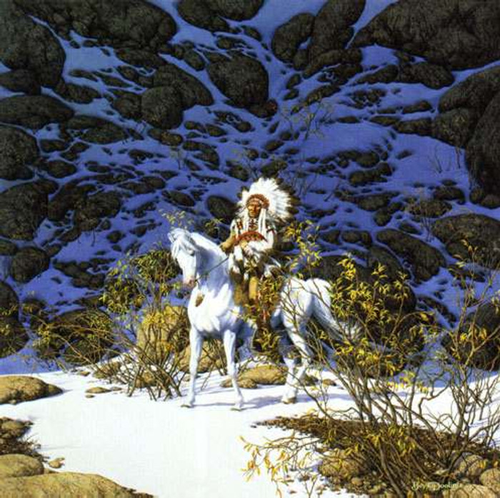 EAGLE HEART, by Bev Doolittle LIMITED EDITION PRINT