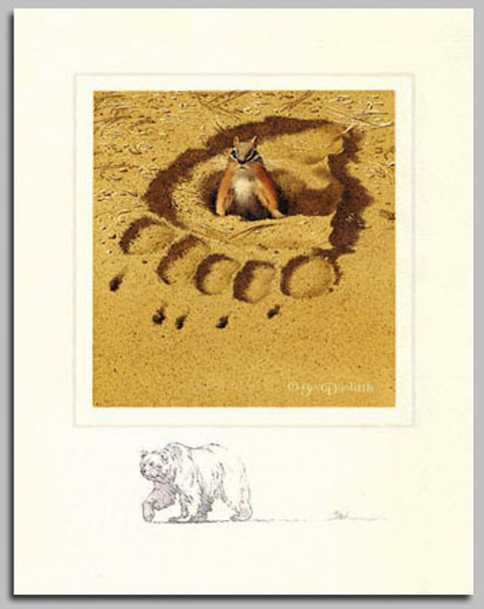 NO RESPECT W/ THE FOREST HAS EYES, by Bev Doolittle LIMITED EDITION PRINT