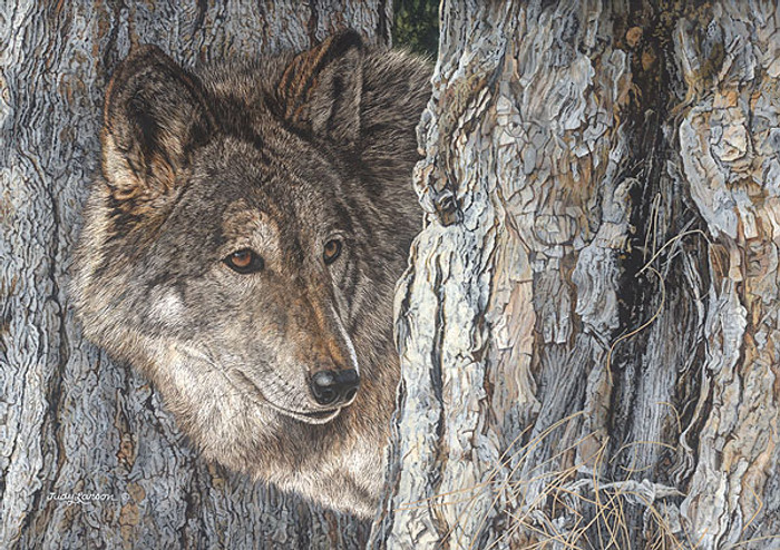 Looking for Love, Judy Larson LIMITED EDITION CANVAS