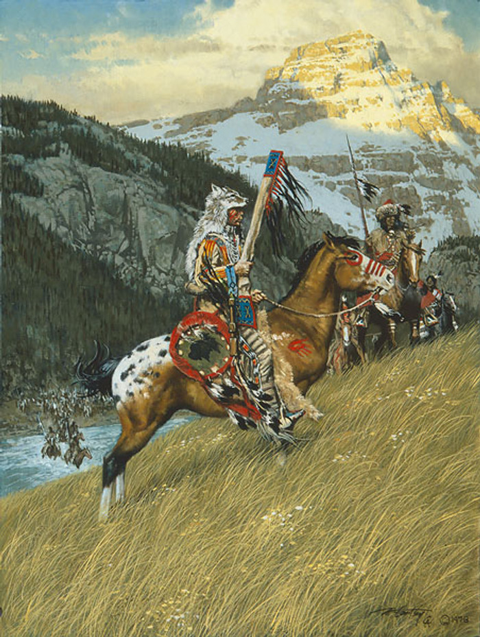 Blackfoot Raiders, by Frank C. McCarthy ANNIVERSARY EDITION