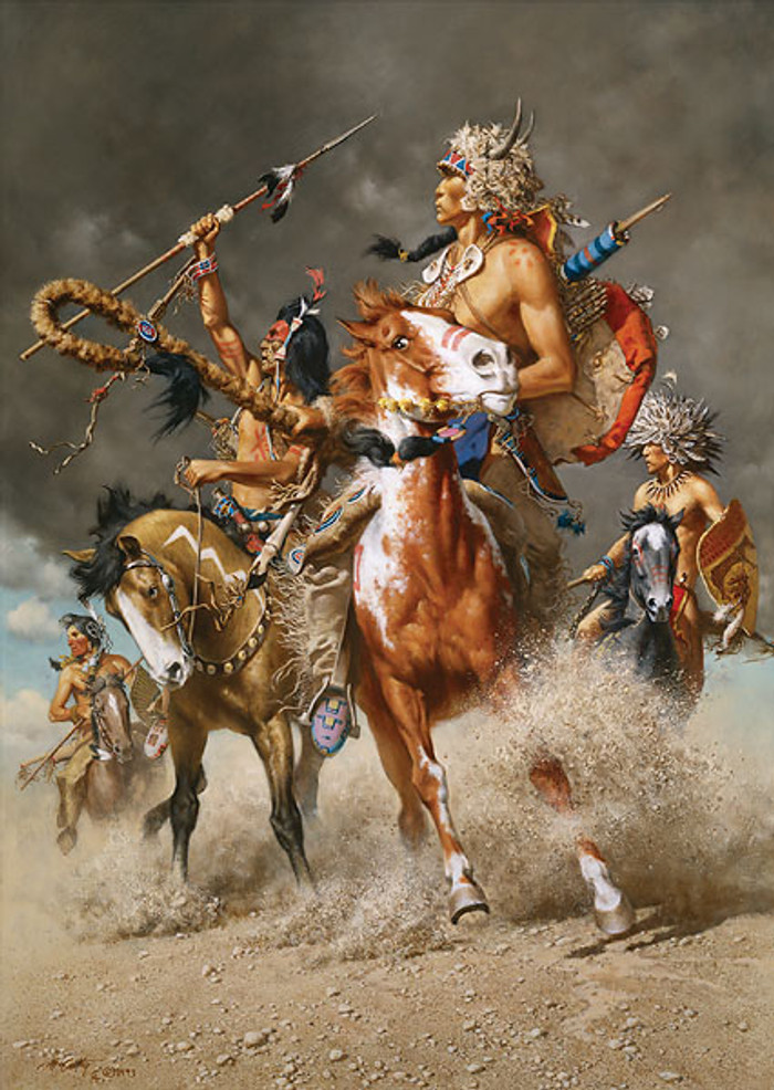 Change in the Wind, by Frank C. McCarthy LIMITED EDITION CANVAS