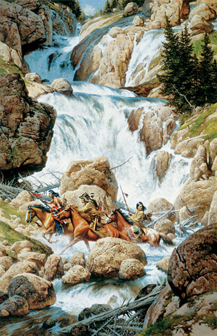 THE ROAR OF THE FALLS, by Frank C. McCarthy LIMITED EDITION PRINT