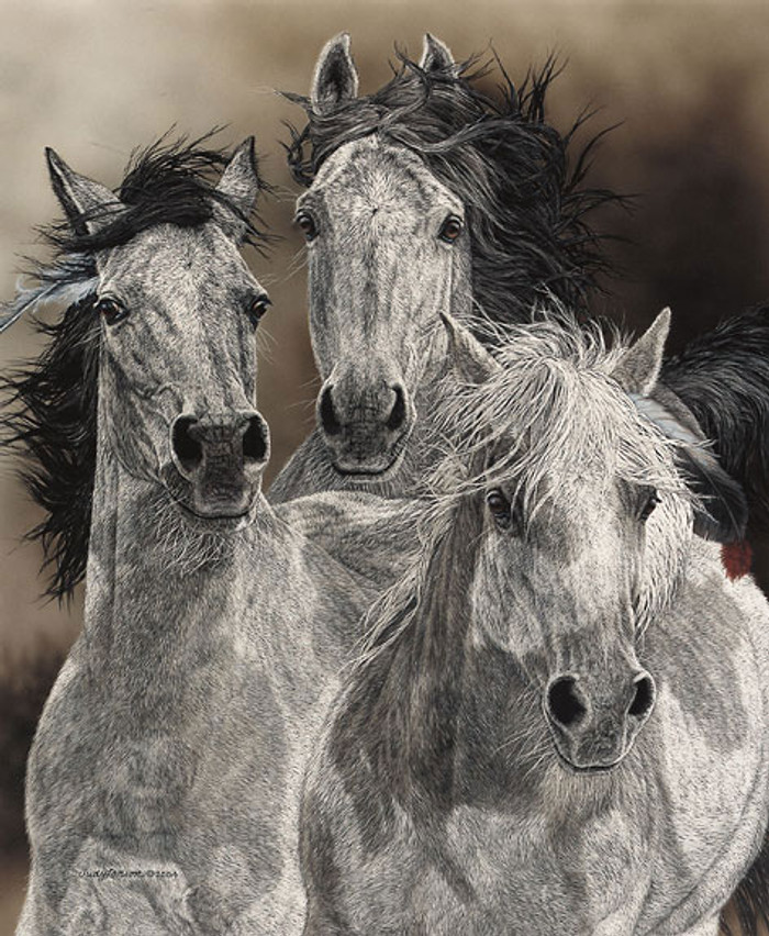 The Defiant, JUDY LARSON LIMITED EDITION CANVAS