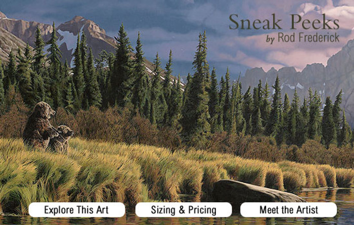 Sneak Peaks - Bear by Rod Frederic promo