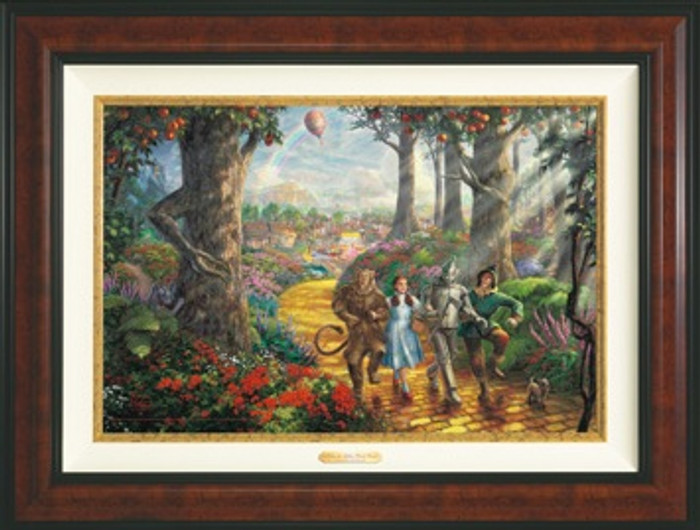 Yellow Brick Road framed