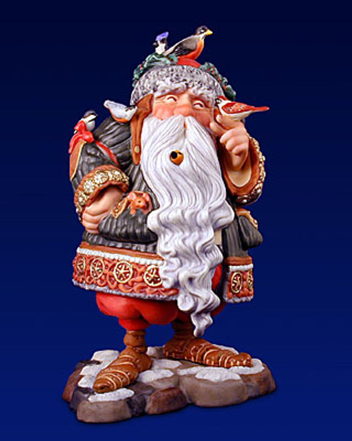 Mrs Clause & Santa's Other Helpers James Christensen Porcelain