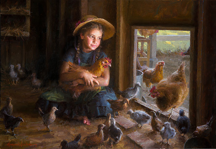 Olivia's Coop, Morgan Weistling LIMITED EDITION CANVAS