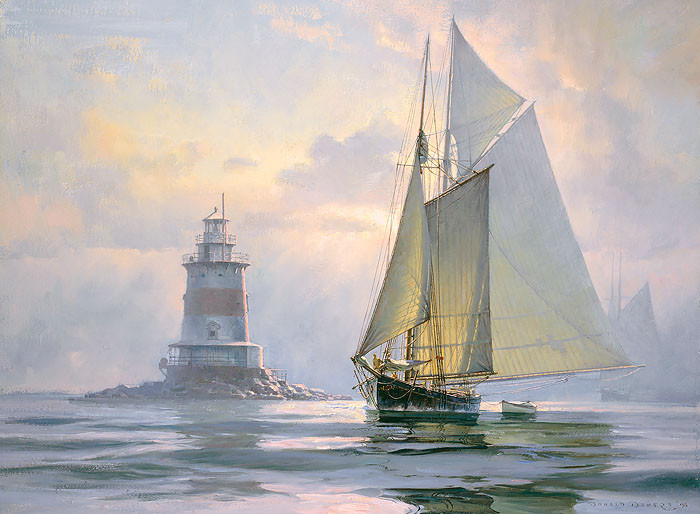 Ghosting Off Latimer's by Don Demers