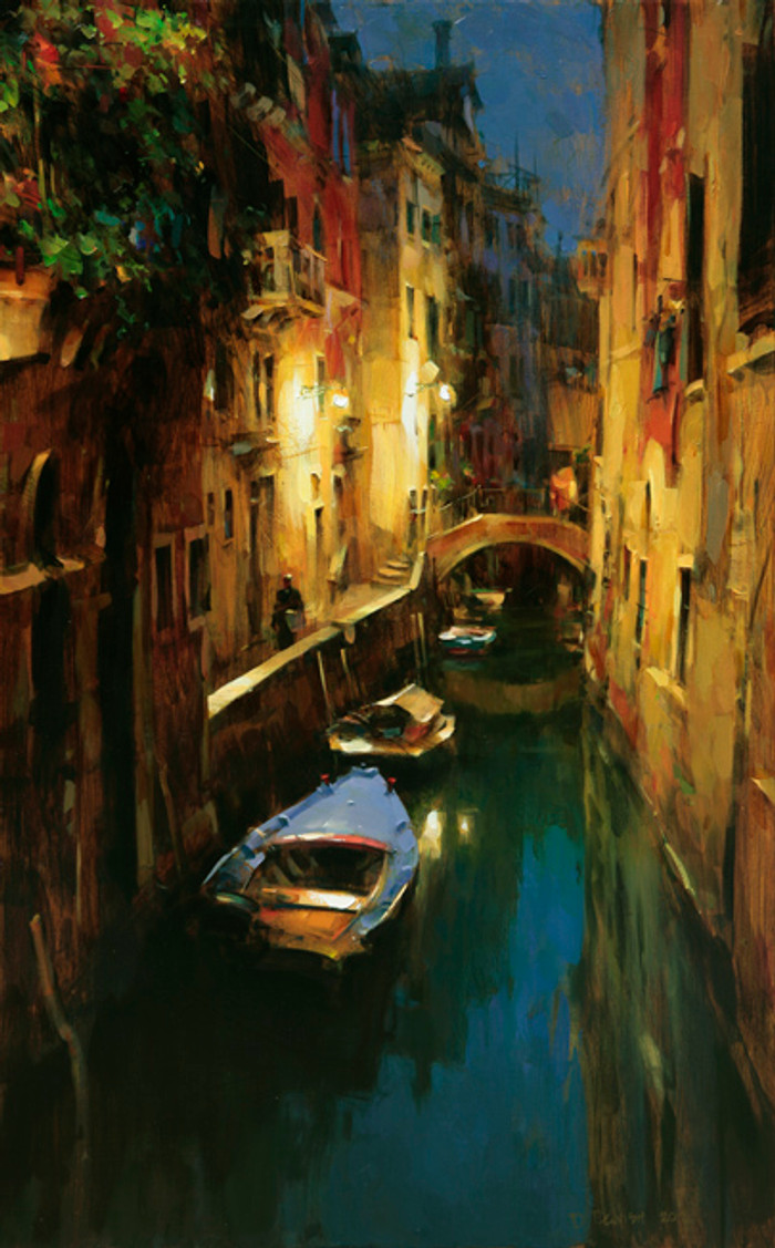 Evening at the Canal, Venice