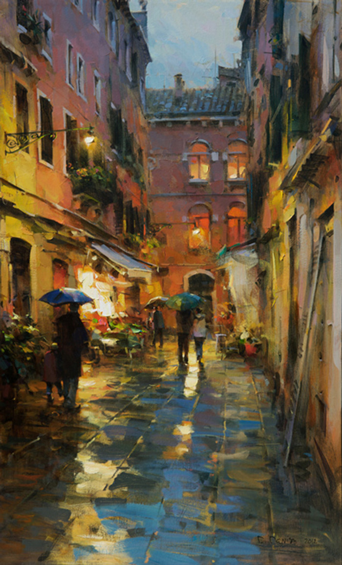 Rainy Venice by Dimitri Danish