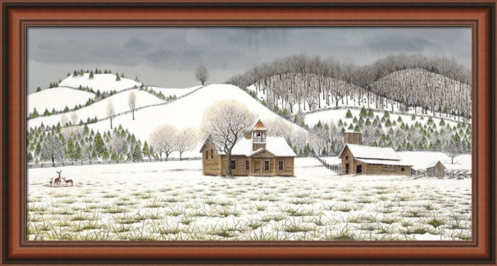 Boyds Creek Canvas framed