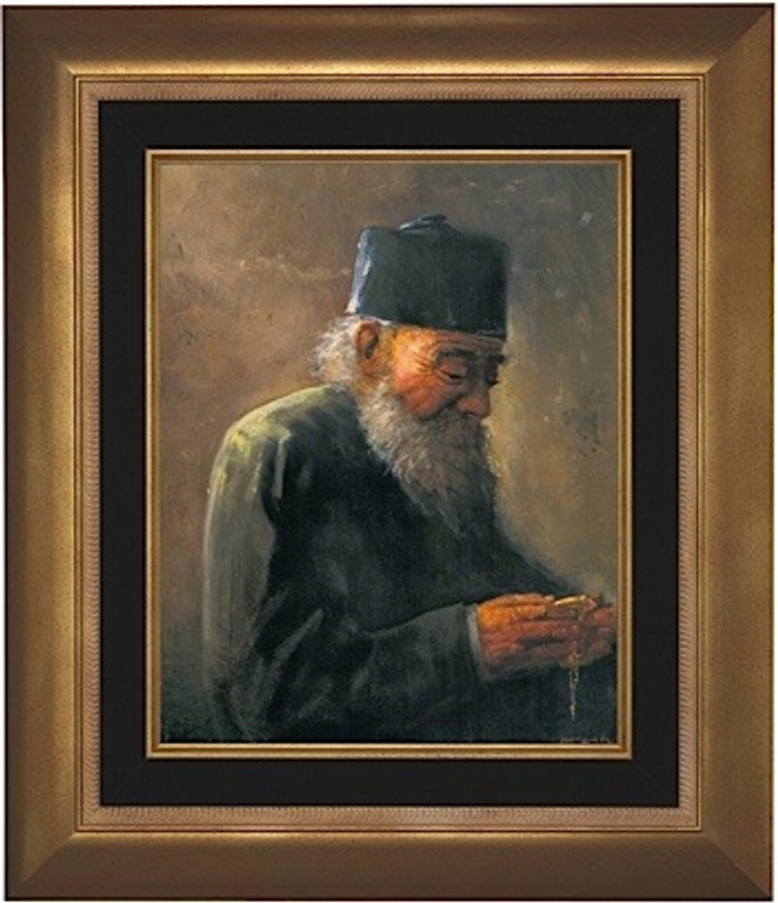 Old Watchmaker framed