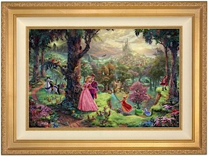 Sleeping Beauty Framed