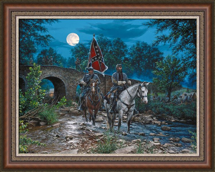 Gettysburg Moon Executive Canvas