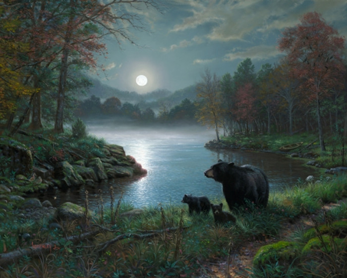Bedtime Stories - Bear Family by Mark Keathley - AP