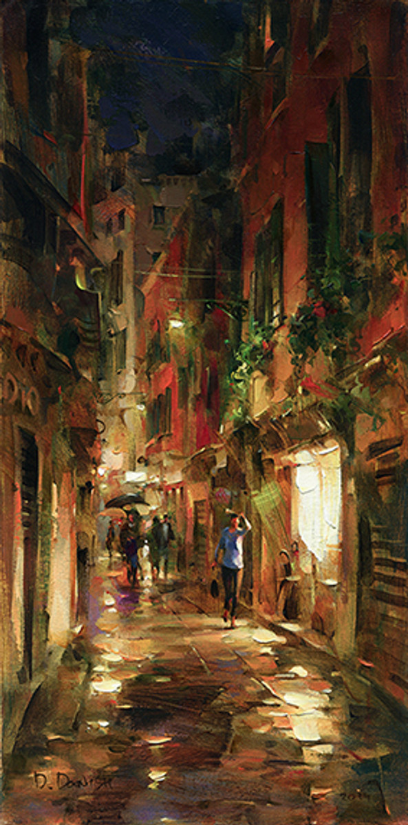 Street at Night by Dmitri Danish