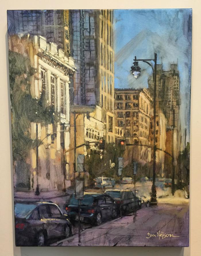 Salisbury Street Scene by Dan Nelson