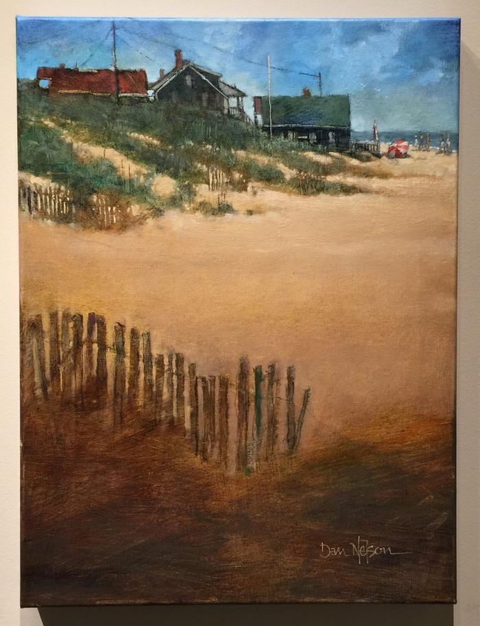 Ocracoke scene by Dan Nelson