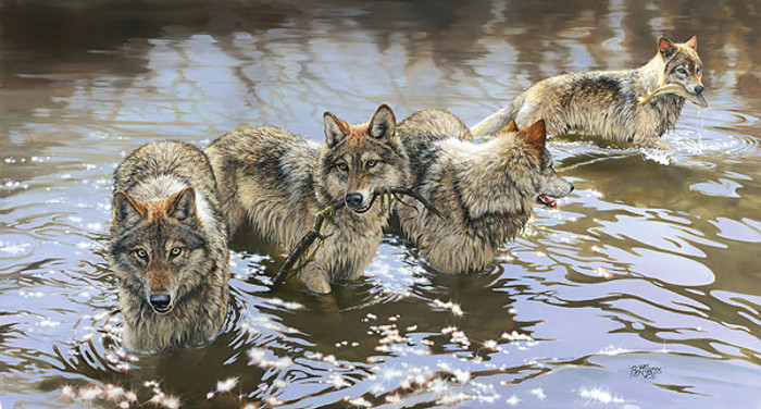 CATCH OF THE DAY, Bonnie Marris LIMITED EDITION PRINT