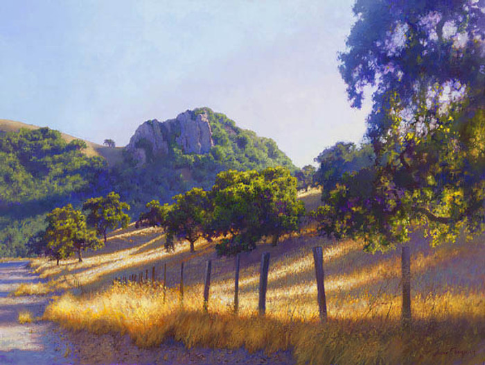 Pacheco Pass, June Carey  LIMITED EDITION CANVAS