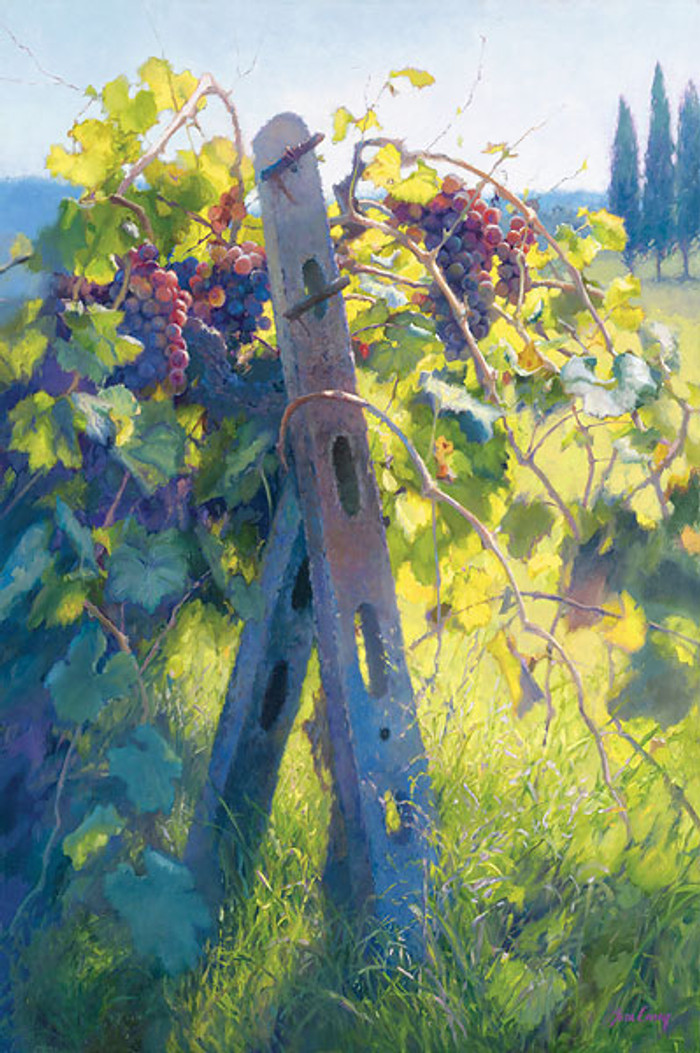 Imported Vines, June Carey  MASTERWORK CANVAS EDITION