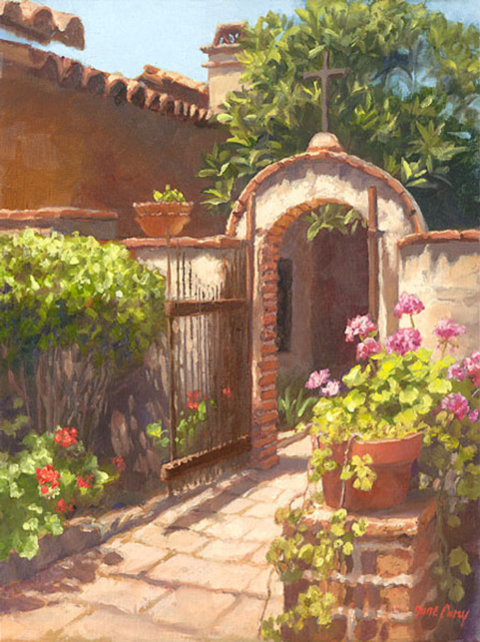 Garden of the Bells, June Carey  SMALLWORK CANVAS EDITION