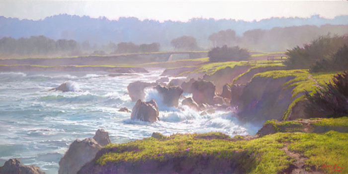 Mendocino, June Carey  MASTERWORK CANVAS EDITION