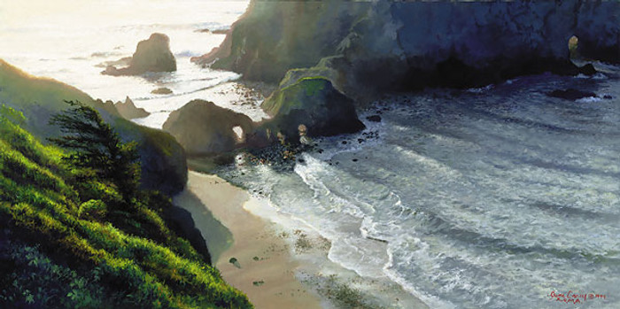 GREENWOOD COVE, June Carey  LIMITED EDITION PRINT