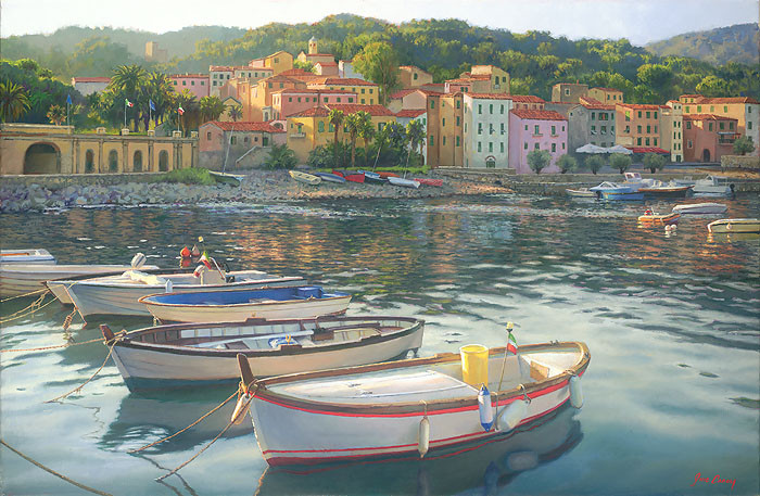 Rio Marina, June Carey  LIMITED EDITION PRINT