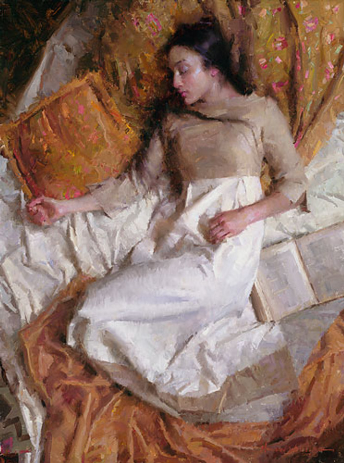 Dreams in Gold, Morgan Weistling LIMITED EDITION CANVAS