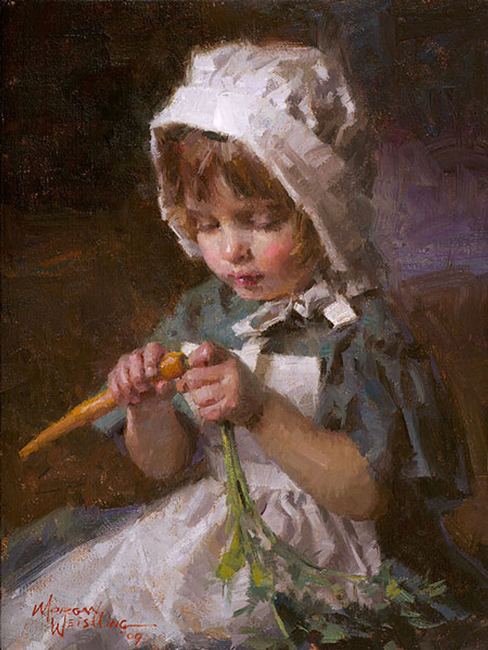 Jessica, Morgan Weistling SMALLWORK CANVAS EDITION