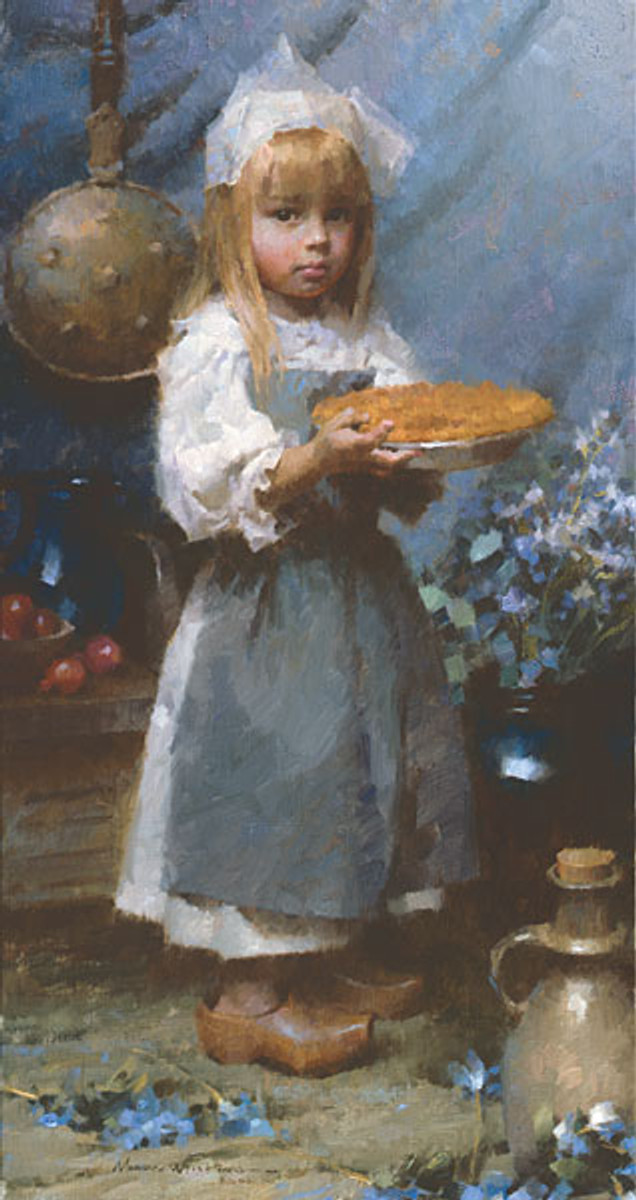 Dutch Apple Pie, Morgan Weistling SMALLWORK CANVAS EDITION